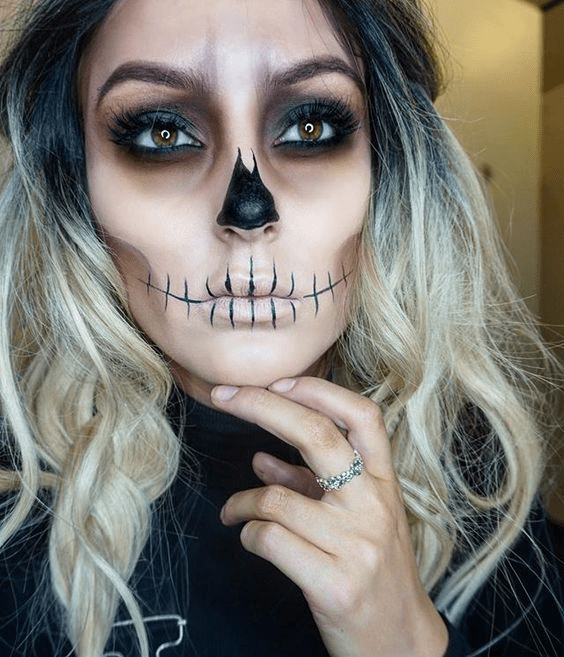 10 Sugestões de maquiagem para Halloween