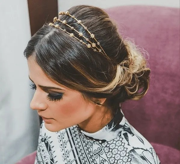 Como usaar tiaras nos cabelos