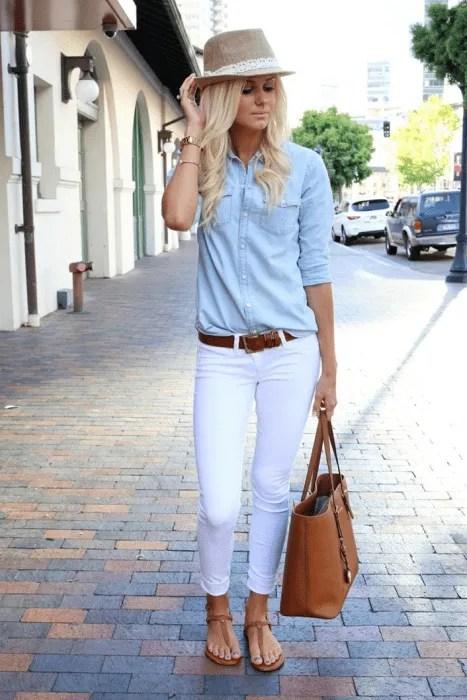 Dicas de como usar camisa jeans.