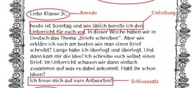 A1 Sınavı Mektup Örnekleri
