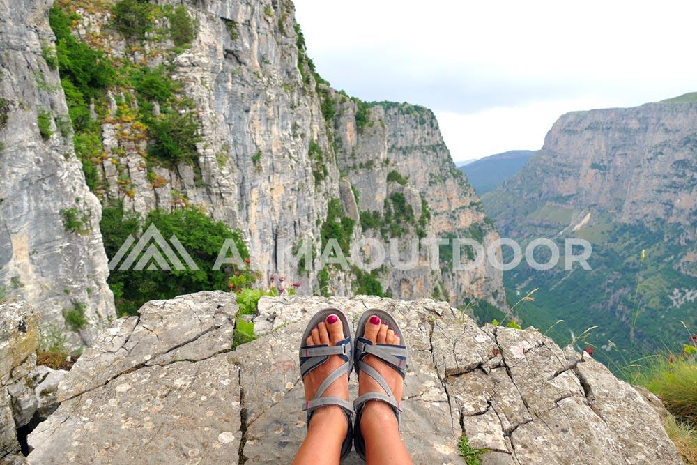 Sandalias trekking calzado mujer montaña - Alma Outdoor