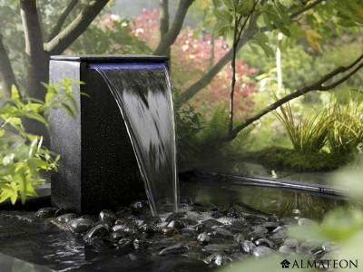 Fontaine De Jardin Vicenza En Marbre Et Ciment ALMATEON
