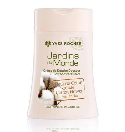 Yves Rocher Gel Douche Fleur de Coton