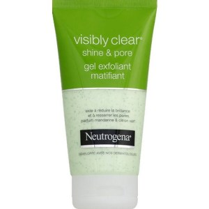 Neutrogena-shine&pore-gel-exfoliant-matifiant