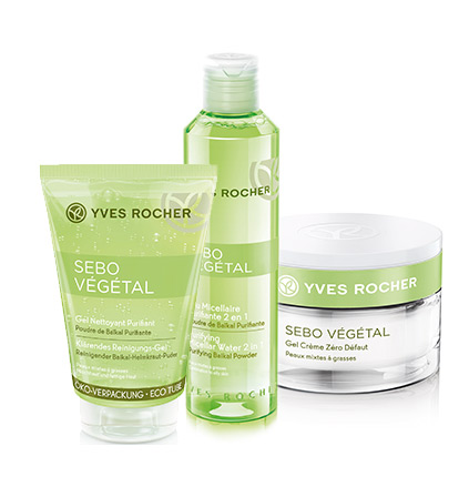 Routine Sebo Vegetal Yves Rocher