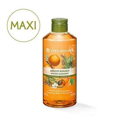 YR_Maxi Bain Douche Abricot Romarin 400 ml