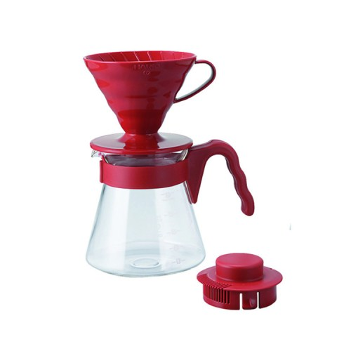 Hario V60 Coffee Server Red VCSD-02-R