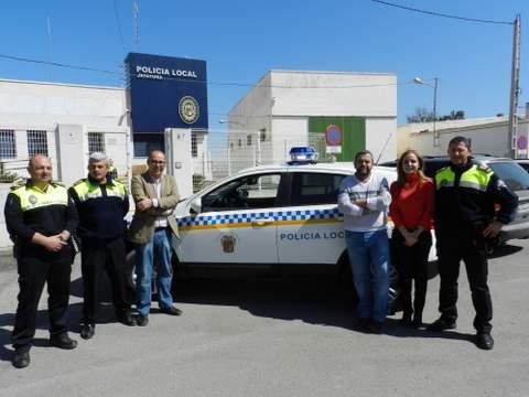 El Ayuntamiento de Huércal-Overa adquiere un nuevo coche para la Policía Local