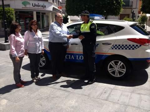 Nuevo vehículo para la Policía Local de Gádor