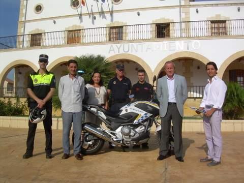 Nueva moto para la Policía Local de Huercal de Almería