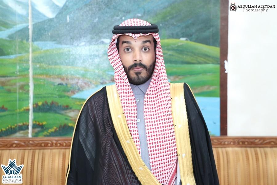 تغطية زواج الشاب الأستاذ : خالد بن نور الحلفي بمحافظة المذنب