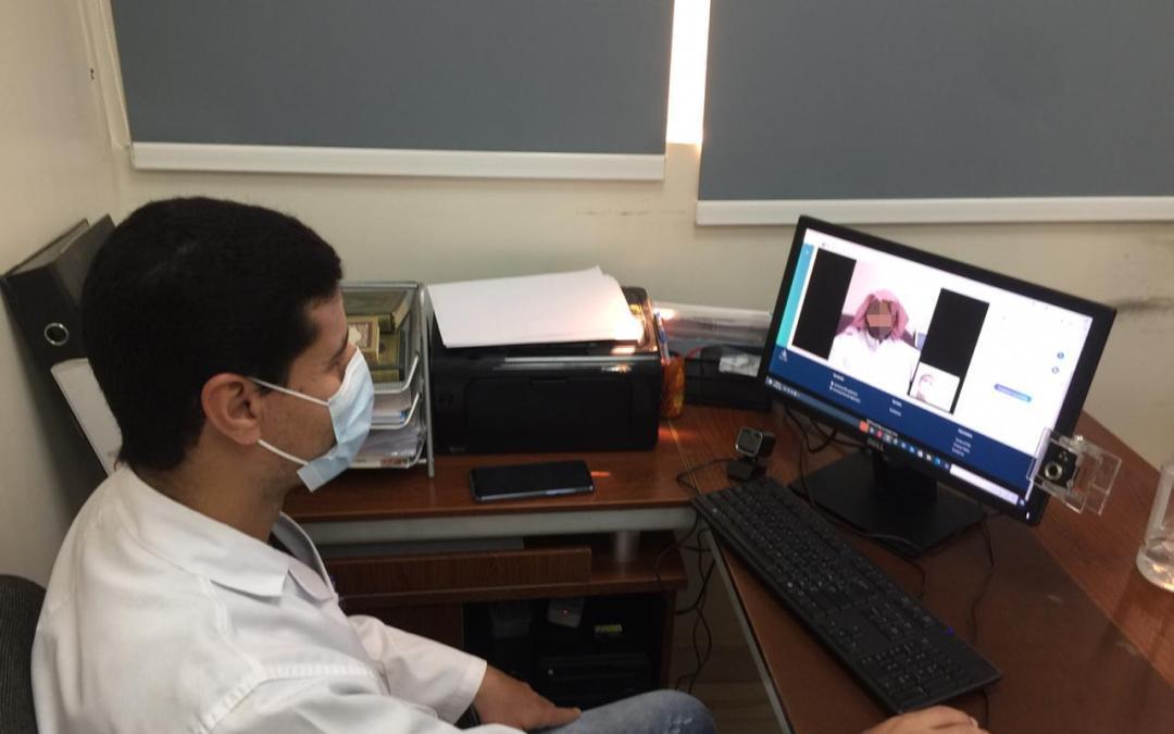مستشفى المذنب العام يُدشّن العيادات الإفتراضية