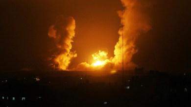 غارات ليلية على صنعاء