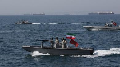 زوارق حربية إيرانية