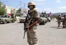 قوات تابعة للحزام الأمني بعدن