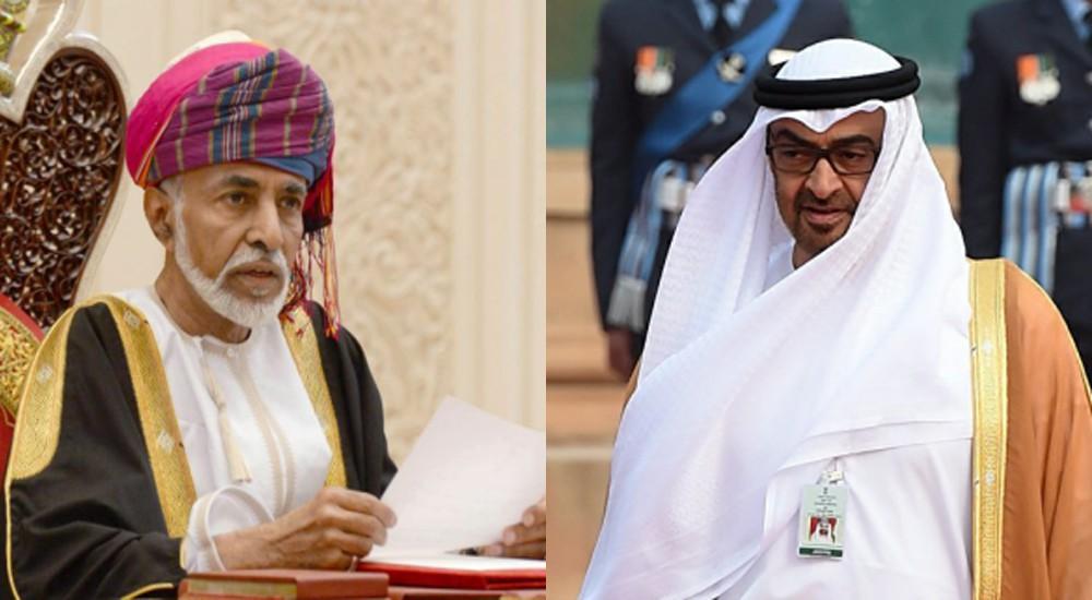 السلطان قابوس رسالة إلى رئيس الإمارات