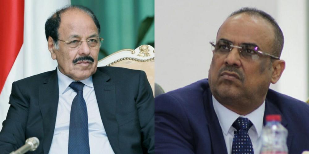 علي محسن الأحمر وأحمد الميسري
