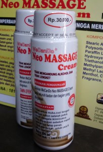 neo massage cream almishbah