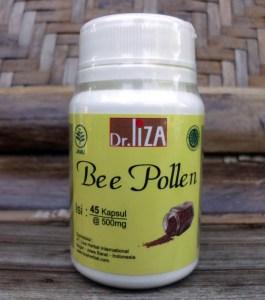 kapsul bee pollen lizaherbal indonesia -tokoalmishbah3