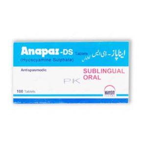 Anapaz DS Tab 250mcg 100's