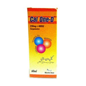 Cal-One-D Suspension 120ml