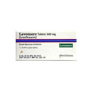 Levomerc Tablets 500mg 1x10's