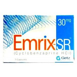 Emrix Sr 30mg Capsule