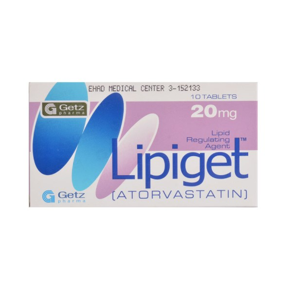 LIPIGET 20MG TABLET