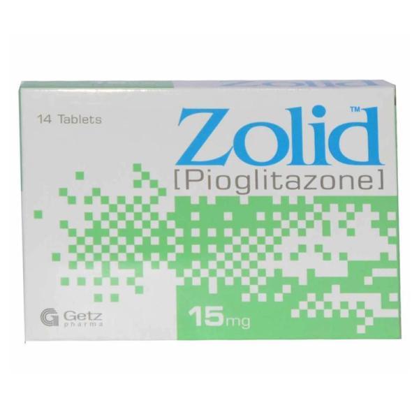 Zolid 15 Mg Tablet