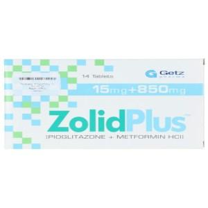 Zolid Plus 15 plus 500mg tablet