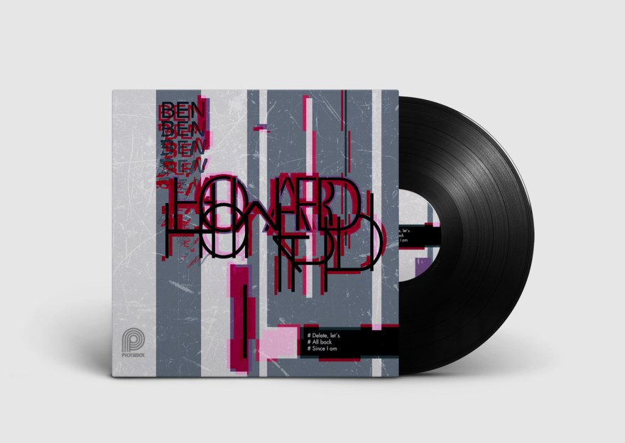 lp cover, design, mockup, lp mockup