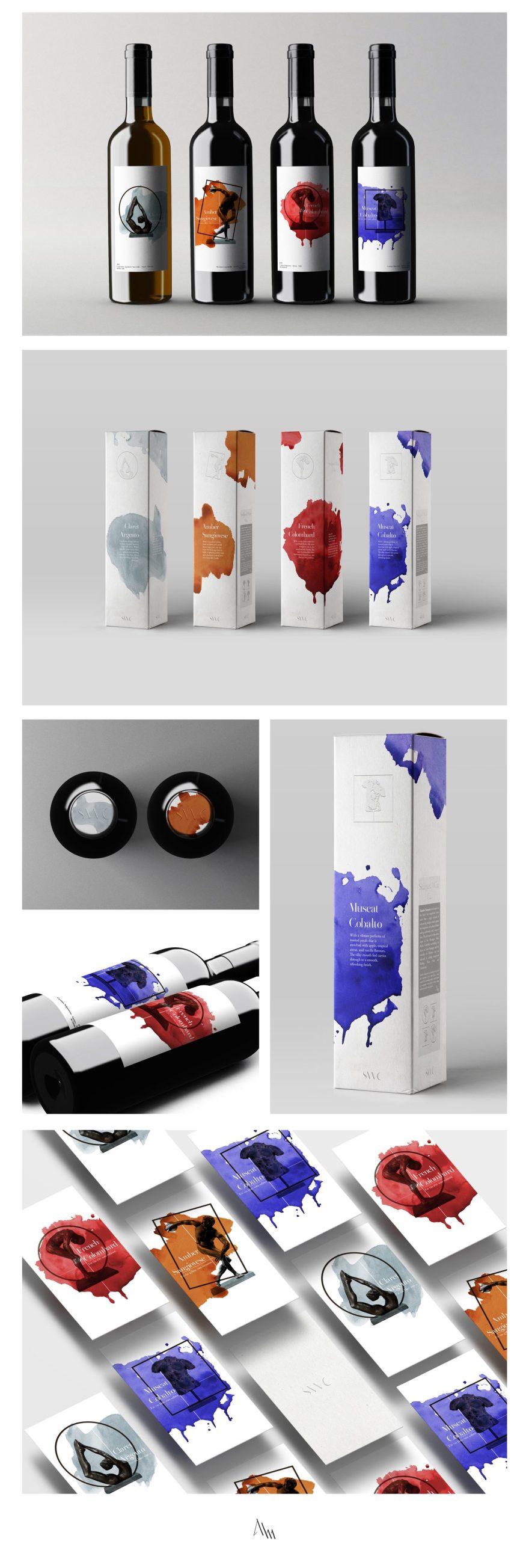 wine design, packaging design, logo design, graphic design, johannes alm