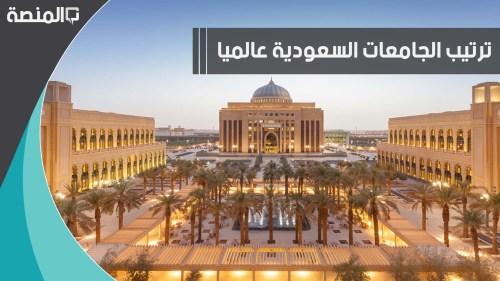 ترتيب الجامعات السعودية عالميا 2020