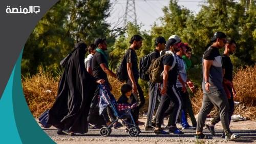 كم عدد سكان العراق 2021