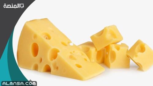 السعرات الحرارية في الجبنه الرومي