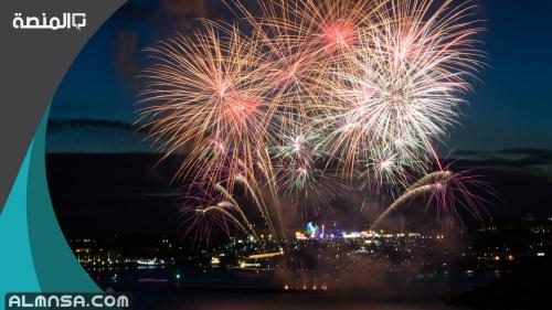 خطبة عن الاحتفال براس السنة الميلادية مكتوبة