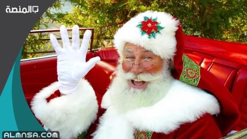 صور خلفيات بابا نويل 2021
