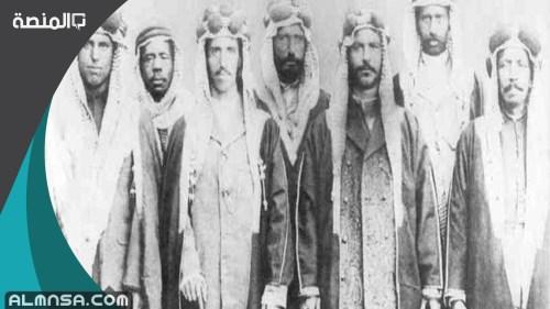 اخر حكام الدولة السعودية الاولى