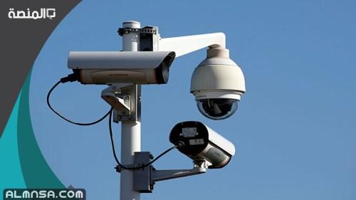 شهادة انجاز تركيب كاميرات من الشرطة