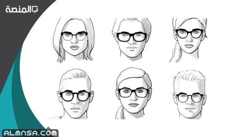 كيف أعرف شكل وجهي