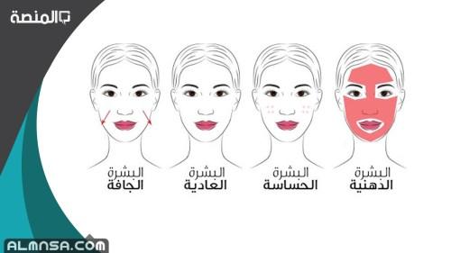 كيف اعرف نوع بشرتي