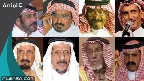 أسماء شعراء سعوديين معاصرين