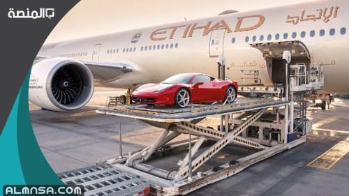 تكلفة شحن سيارة من الامارات إلى السعودية