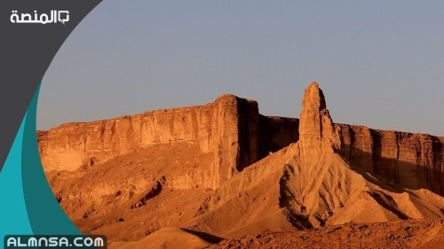 لماذا سمي جبل طويق بهذا الاسم