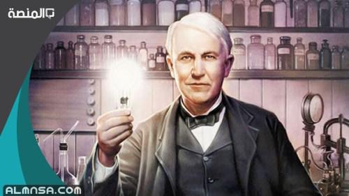 من هو مخترع المصباح الكهربائي
