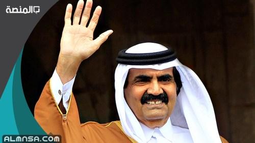 ابناء الشيخ حمد بن خليفه ال ثاني بالترتيب