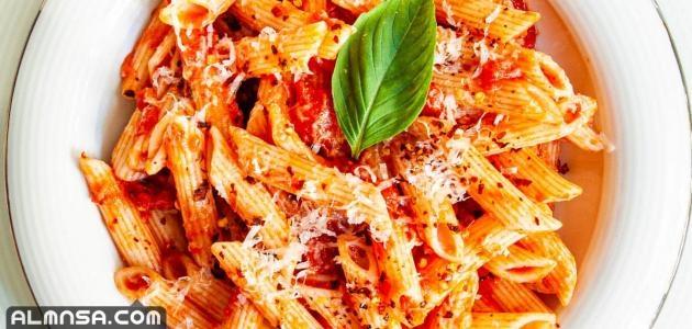 أنواع المكرونة الإيطالية واسمائها