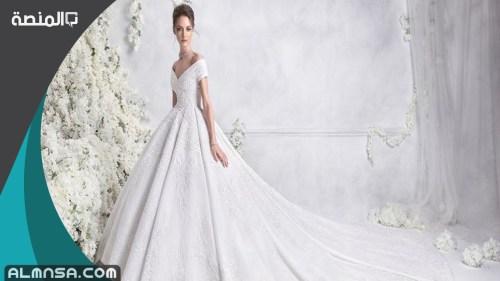 ماذا تلبس العروس بعد فستان الزفاف