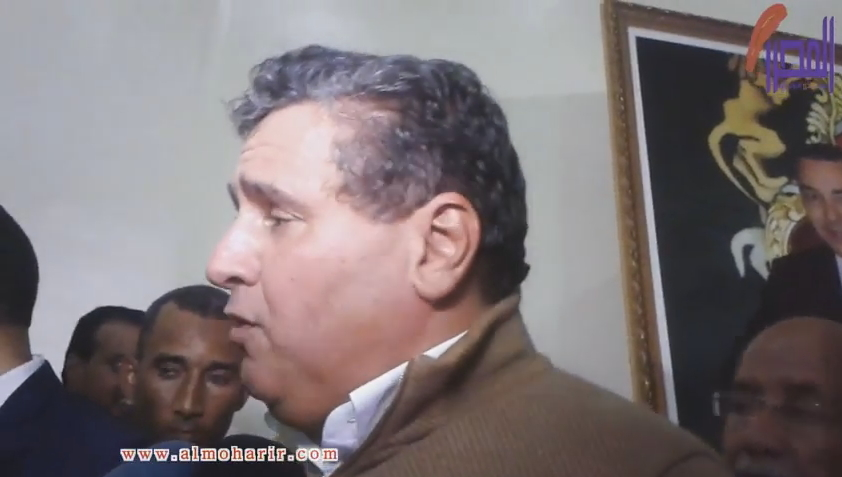 تصريح عزيز أخنوش على هامش اللقاء التواصلي بالداخلة