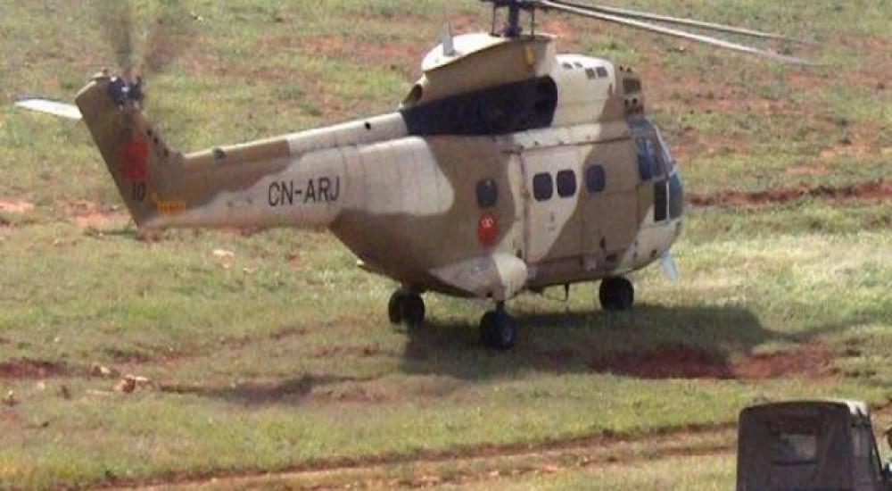 السمارة.. نقل ضابطين عسكريين على متن مروحية في حالة صحية جد حرجة بعد انفجار لغم أرضي